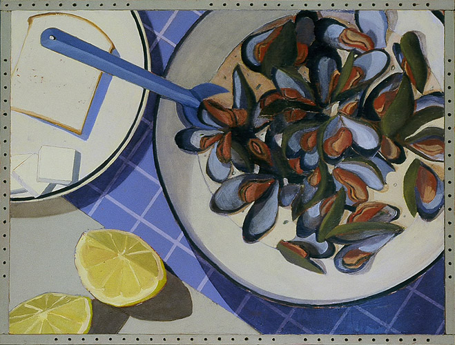 Mussels in Coconut Cream